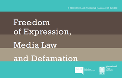 IPI/MLDI release manual for defending against defamation claims New tool for lawyers, journalists, trainers available for download in five languages