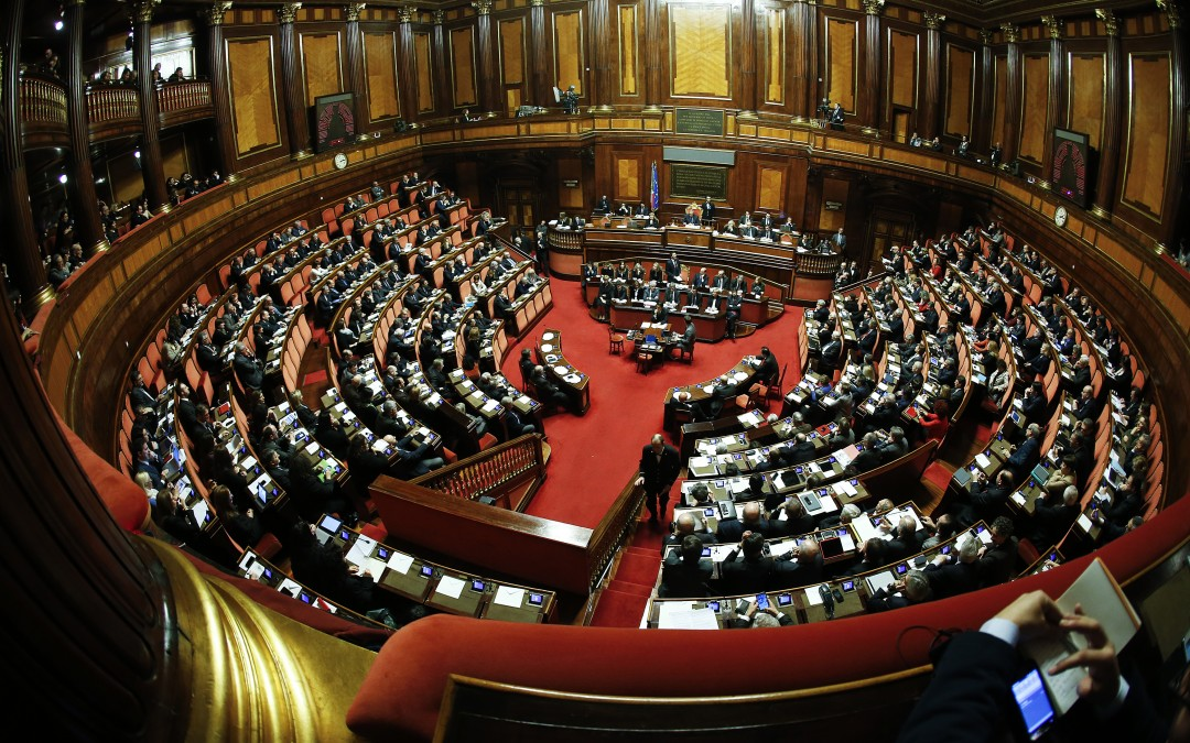 Italian journalist given prison sentence for defamation Ruling underscores urgency of Senate reform bill
