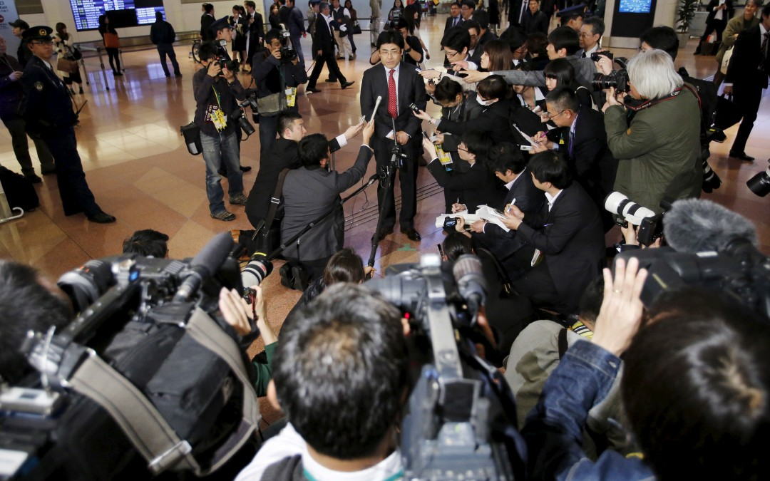 "Japanese journalist faces prison time for allegedly defaming South Korean president IPI criticises prosecutors' decision as ""dangerous overreaction"""